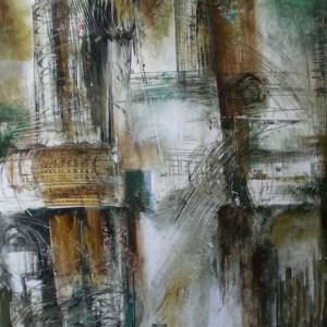 Vladimir Vitkovsky - San Francisco, CA Title: Tocatta e Fuga Medium: oil on canvas Size: 64X56