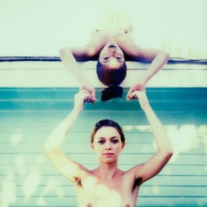 """Title: Inverted Medium: PX-70 Impossible Project open shade instant film Size: 7""""x7"""""""
