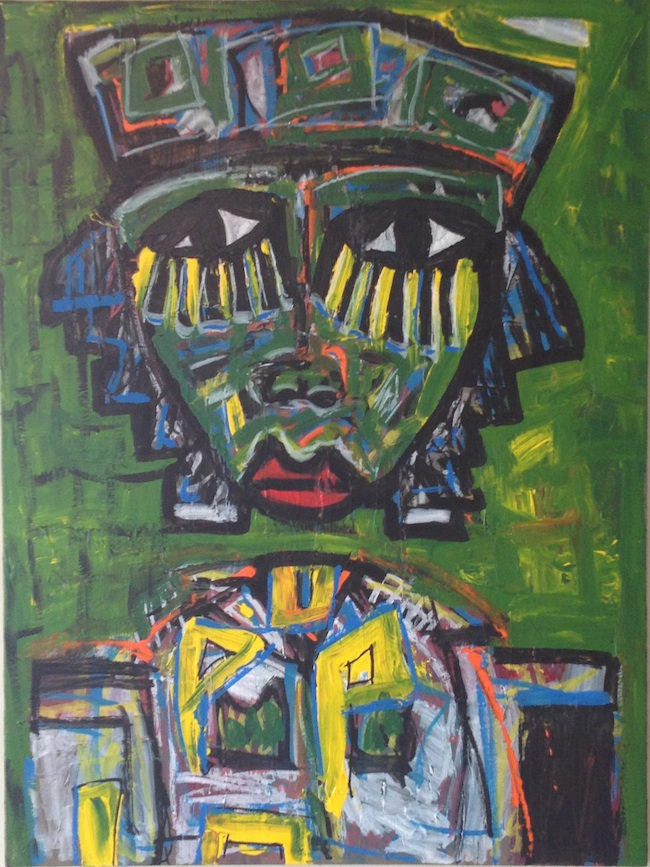Title: Redemptions Son Medium: Acrylic Size: 36in x 36in