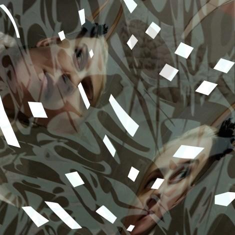 "TitleI am a female. I am an artist. I am a female artist - 3   Mediumdigitally generated, mapped and rendered   Size34"" x 34"""