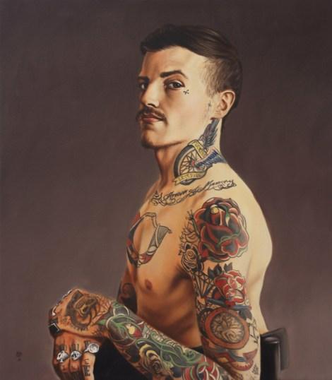 TitleMatthew, Seated   MediumOil on Canvas   Size28 x 32