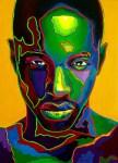 Marv Roussan – Tucson, AZ TitleGreen Man   MediumOil on Canvas   Size30x40 inches