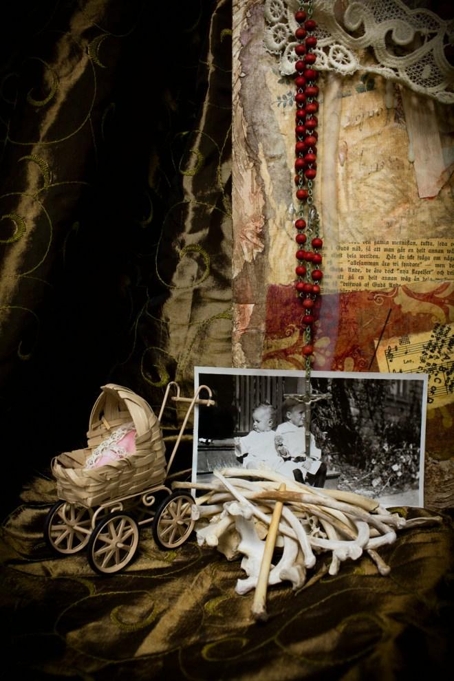 Title Lost Childhood: One Hundred Hail Marys for Julia   Medium  Digital, Pigmented Ink-jet print   Size 13