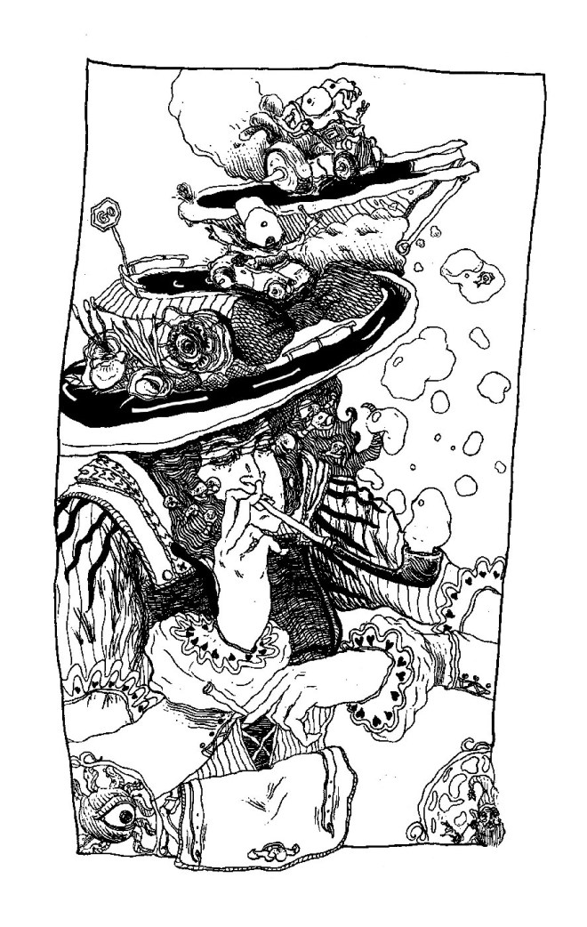 Title Col on   Medium Pen and ink   Size 887 x 1400