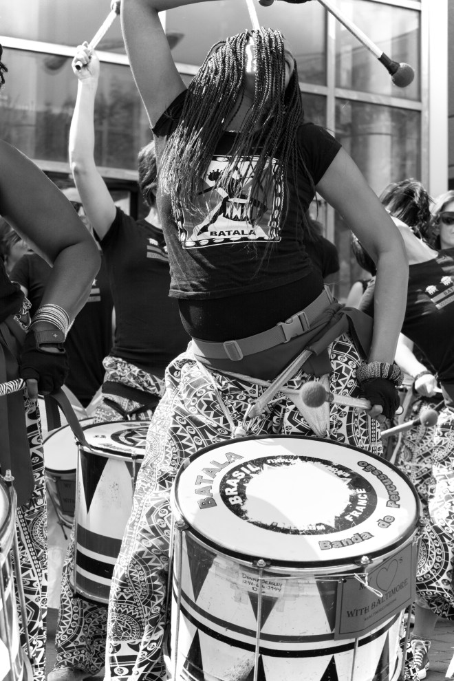Title DC Drummer Girl   Medium 	Digital Photography   Size 	16 x 20