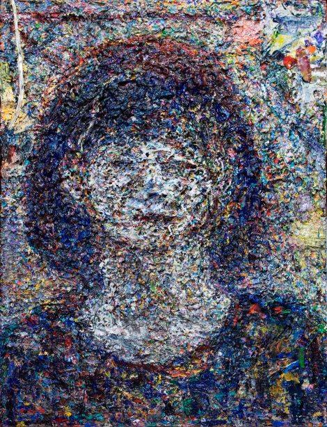 Title:Rita Simonova Medium:Acrylic on canvas Size:26 x 22 inches