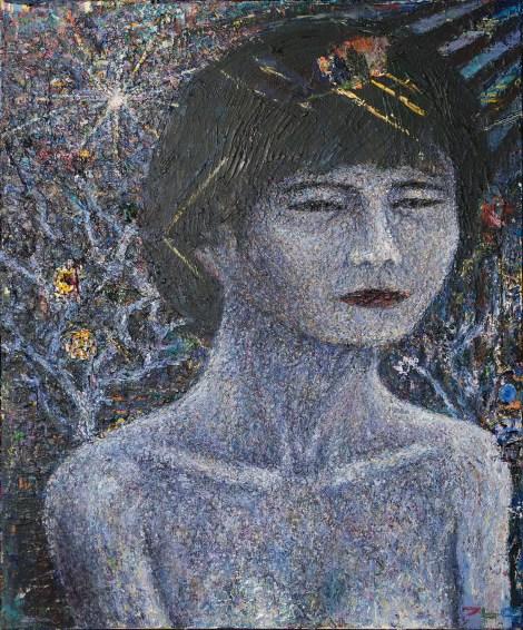 Title:Her Garden Medium:Acrylic on canvas Size:60 x 73 cm