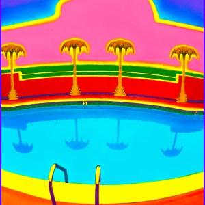 Title: Hollywood Pool Medium: Photoshop enhanced photography Size: 30 x 20