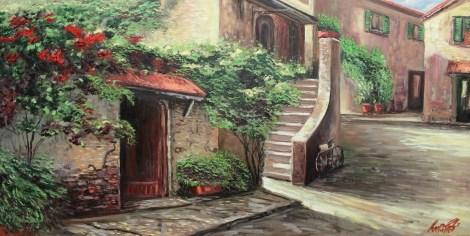 Title:Oil MSC 058 Medium:Oil on canvas Size:47.2 x 23.6 in