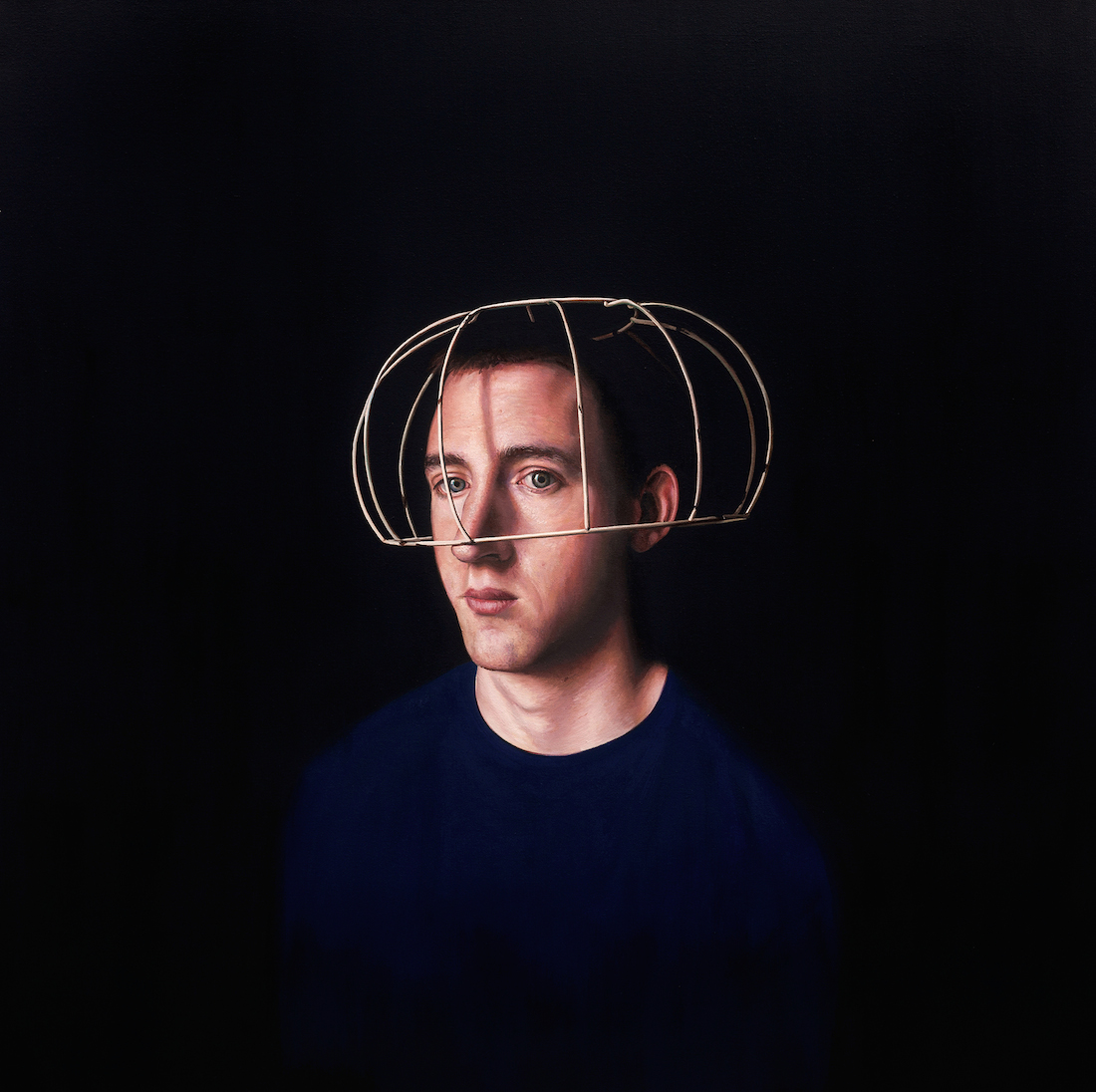 Title: The Artist Medium: oil Size: 90cm x 90cm