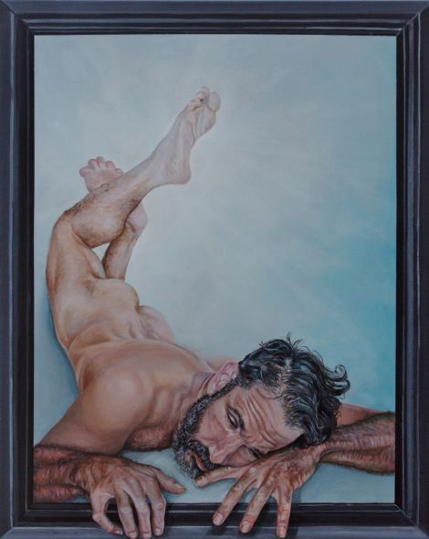 Title:Respite Medium:Acrylic on canvas Size:24x30