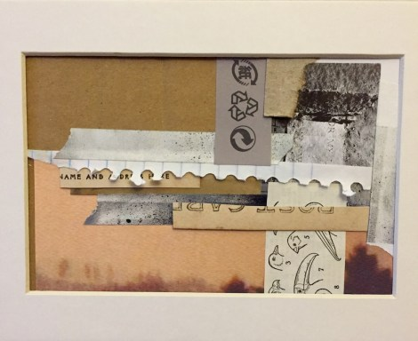 Title:Recyclables Medium:Mixed-media collage Size:6 x 8