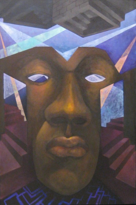 Title:The Face Medium:Oil on Canvas Size:36x 34