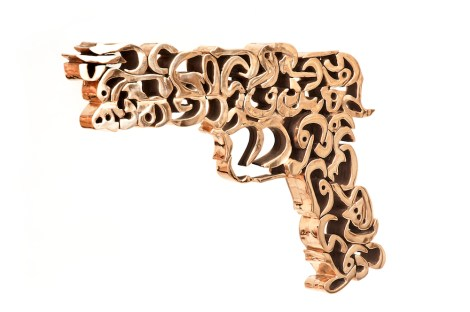 Title:The golden gun Medium:	Bronze Size:	39 X 3.5 X 26.5