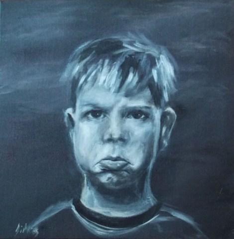 Title: Jack Medium: Acrylic on canvas Size: 10''x 10''