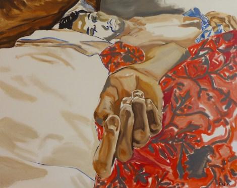TitleNeel   Mediumoil on linen   Size48 x 60 inches