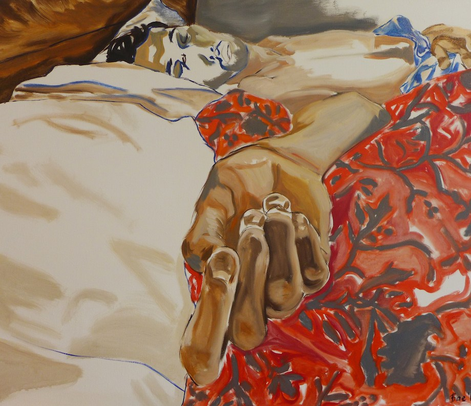 Title Neel Medium oil on linen Size 48 x 60 inches