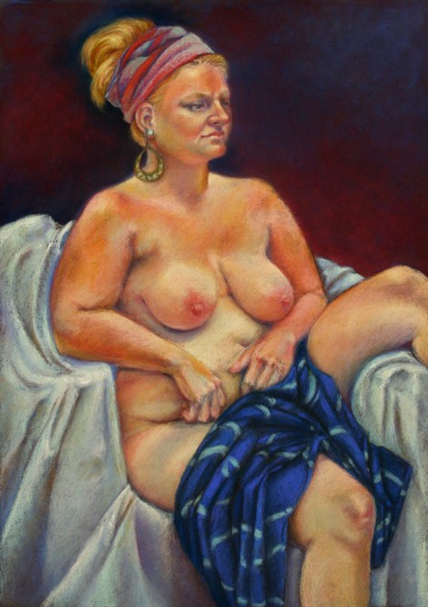 TitleGypsy Medium Pastel Size 27x19