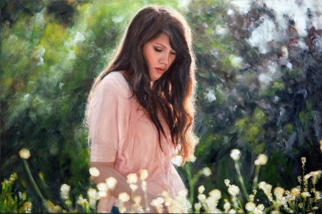 TitleVictoria Grace   MediumPhotography and oil painting   Size16x12