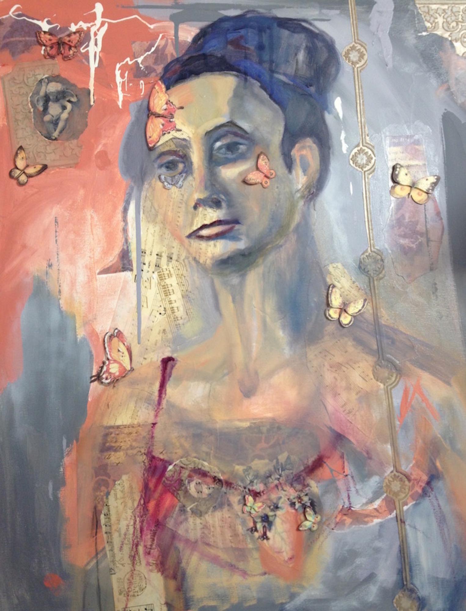 Title Feminisme Medium Mixed Media on Canvas Size 30x24
