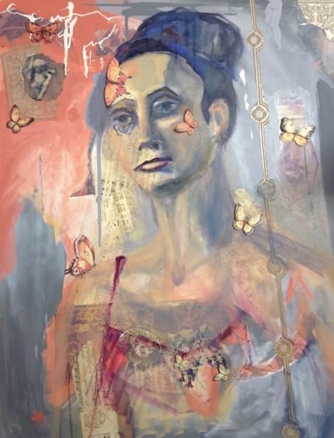 TitleFeminisme   MediumMixed Media on Canvas   Size30x24