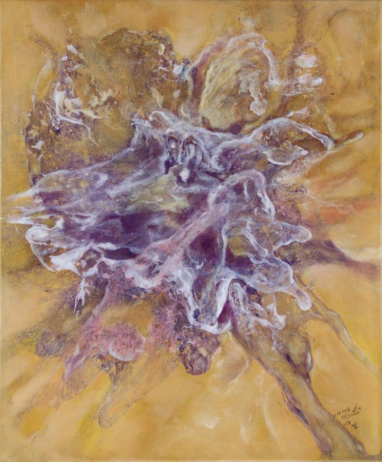 Title: Thrust Medium: Oil on Canvas Size: 53x45.5cm