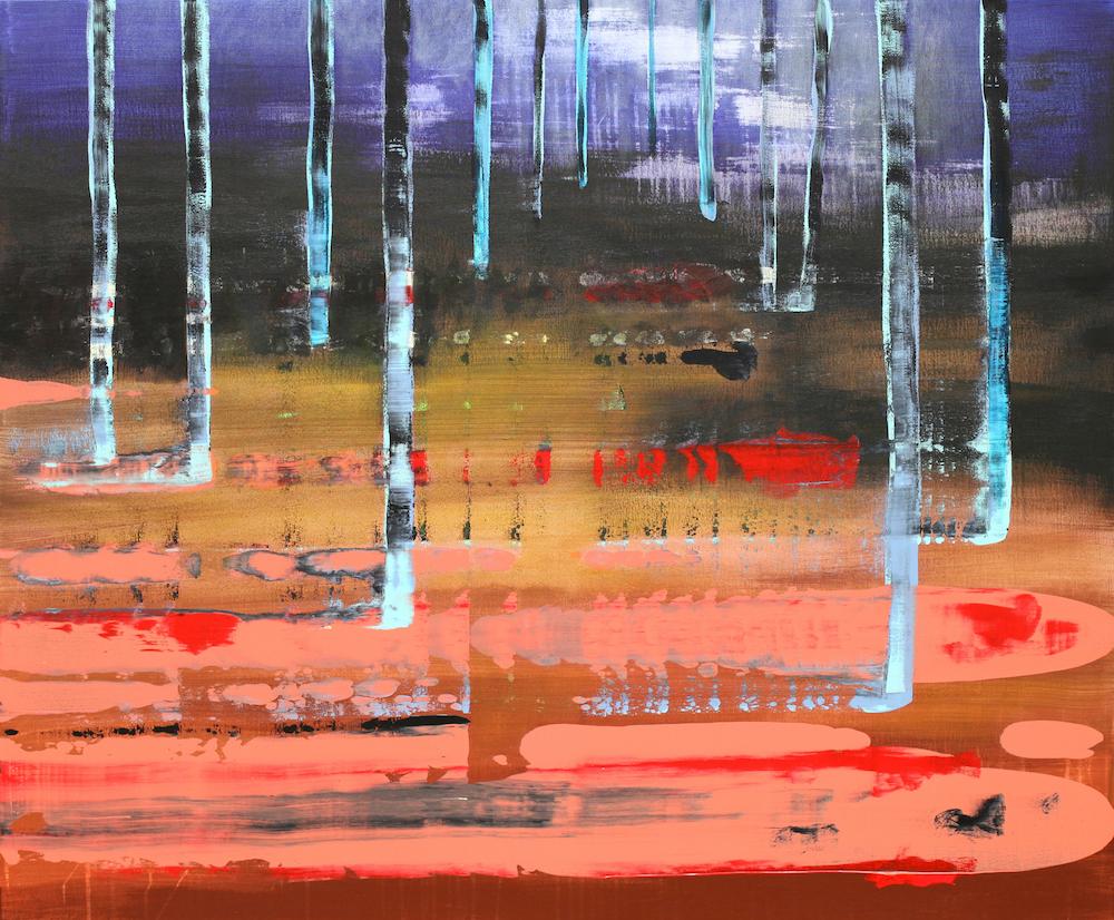 Title: No title Medium: Acrylic on canvas Size: 100 x 120 cm