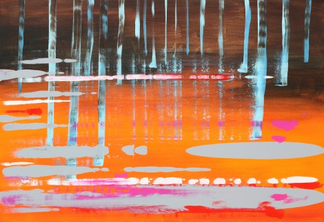Title:No title Medium:Acrylic on canvas Size:90 x 130 cm