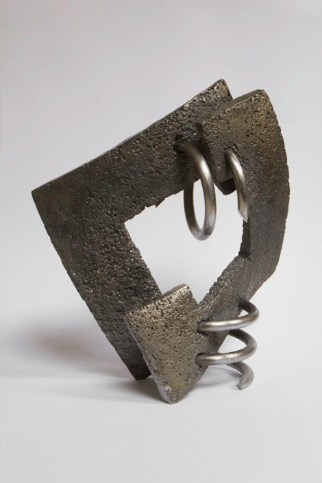 Title:Brotherhood II Medium:	cast iron, steel Size:	34,5x16x39,5cm