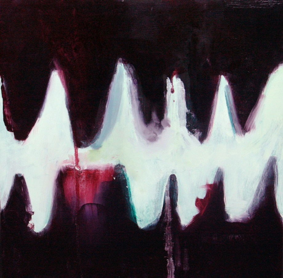 Title Teeth II Medium Oil Size 16x16 in
