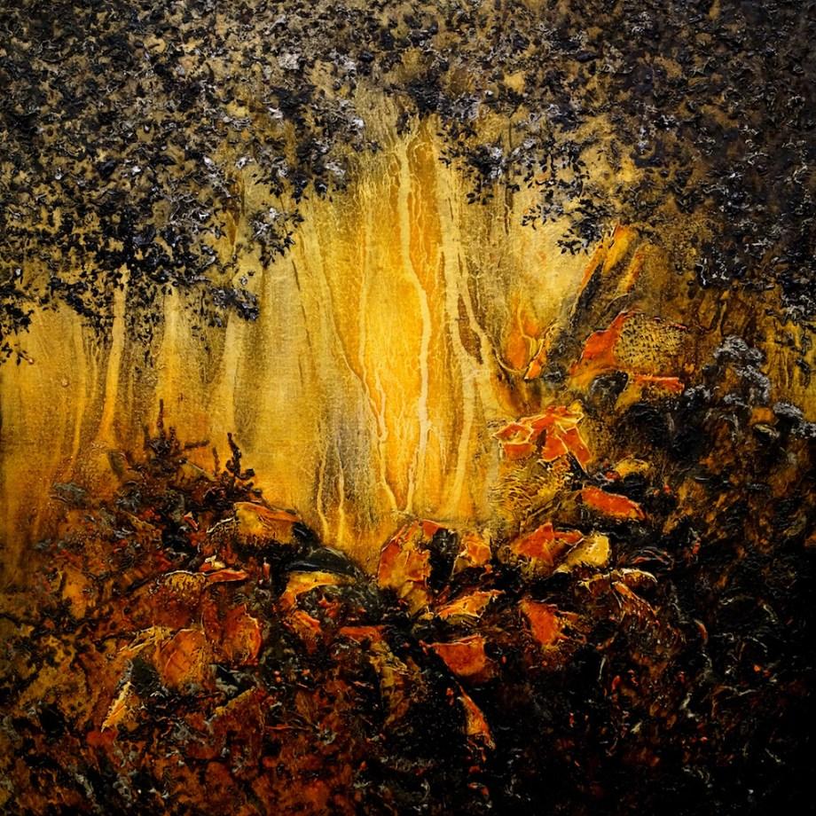 Title:Liminal Medium:Oil on Canvas Size:91.4 x 91.4 cm