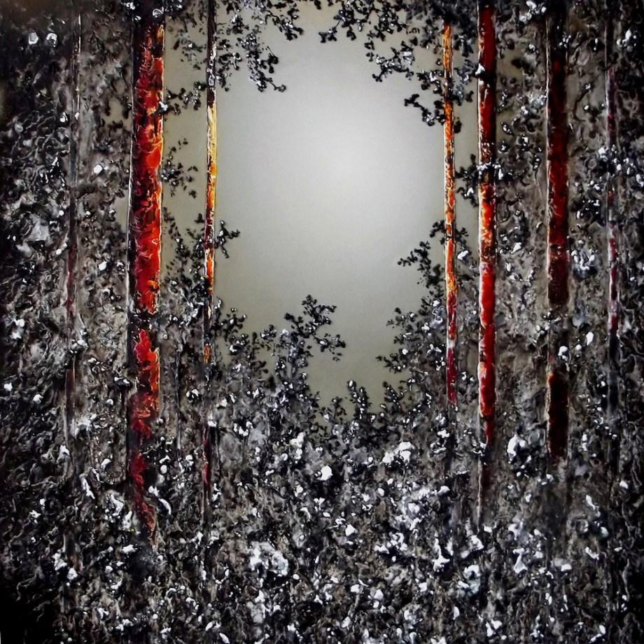 Title:Ulterior Medium:Oil on Canvas Size:90 x 90 cm