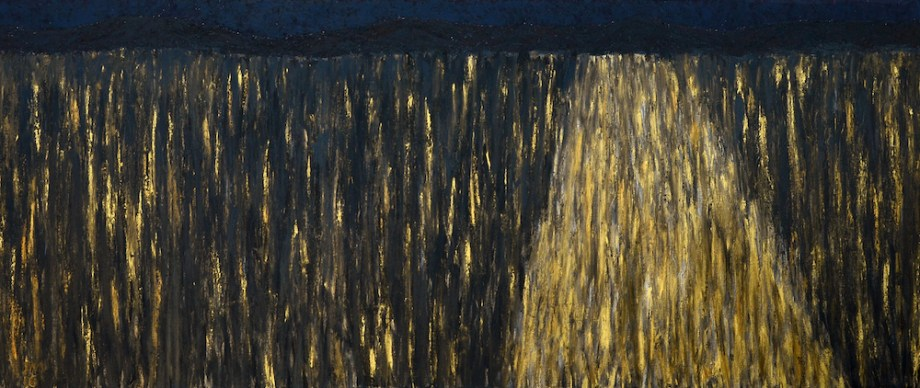 Title:Incidence of Light Medium:	Oil Size:	32 X 76 inches