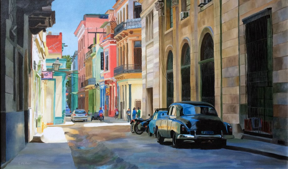"Title:Havana Medium:Oil Size:20"" x 32"""