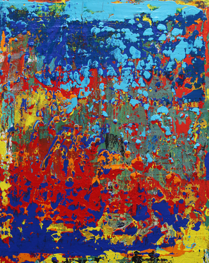 "Title:The Autumn colors Medium:Mixed media on canvas Size:12""x24""x1.5"""