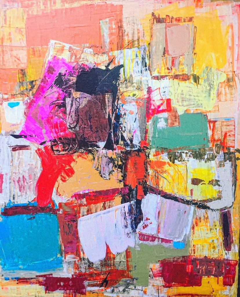 Title:Horizons Medium:Acrylic on canvas Size:48x60