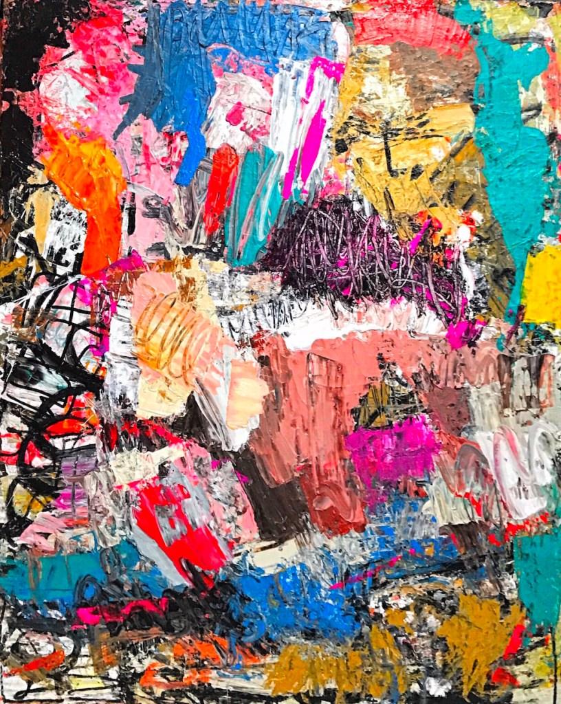 Title:No more Medium:Acrylic on canvas Size:48x60