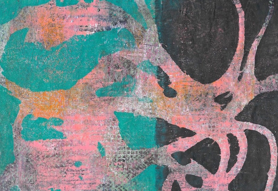 "Title:Transition Medium:Acrylic and Mixed Media Size:9"" x 7.5"""