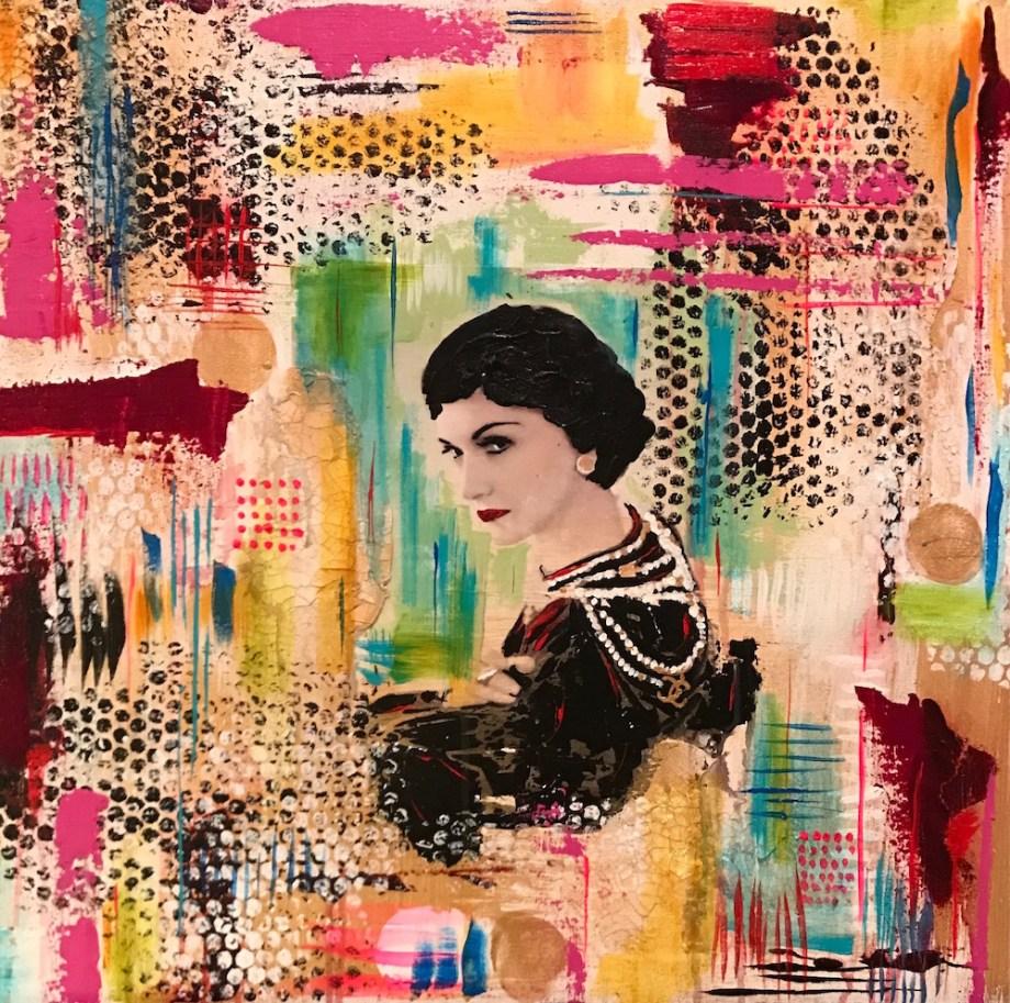 Title:La Chanel Medium:Acrylic Size:24x24