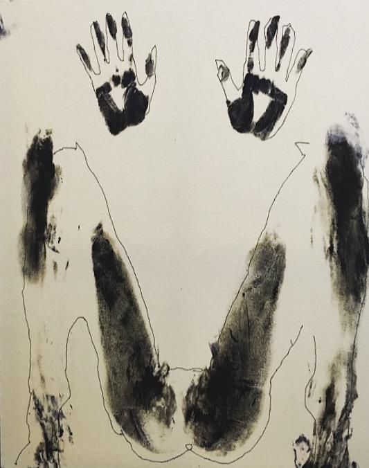 Title:Push & Pull Medium:Acrylic on canvas Size:30'' x 24''