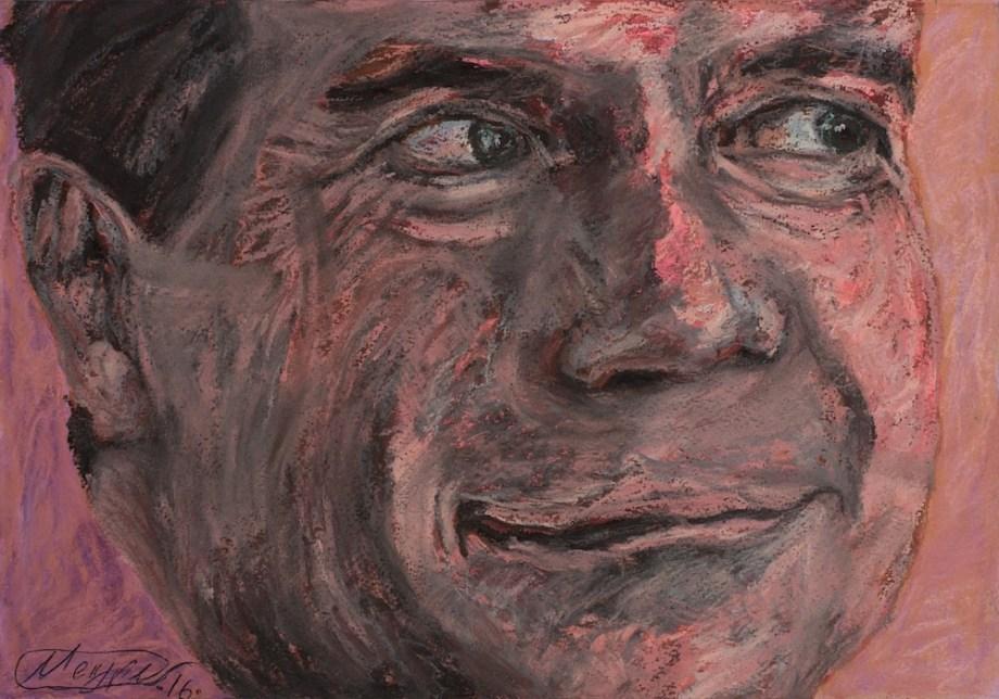 Title:DREAM FACTORY medvedev Medium:pastel on paper Size:20x30 cm