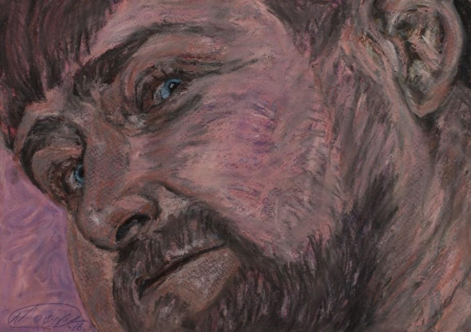 Title:DREAM FACTORY kadyrov Medium:pastel on paper Size:20x30 cm