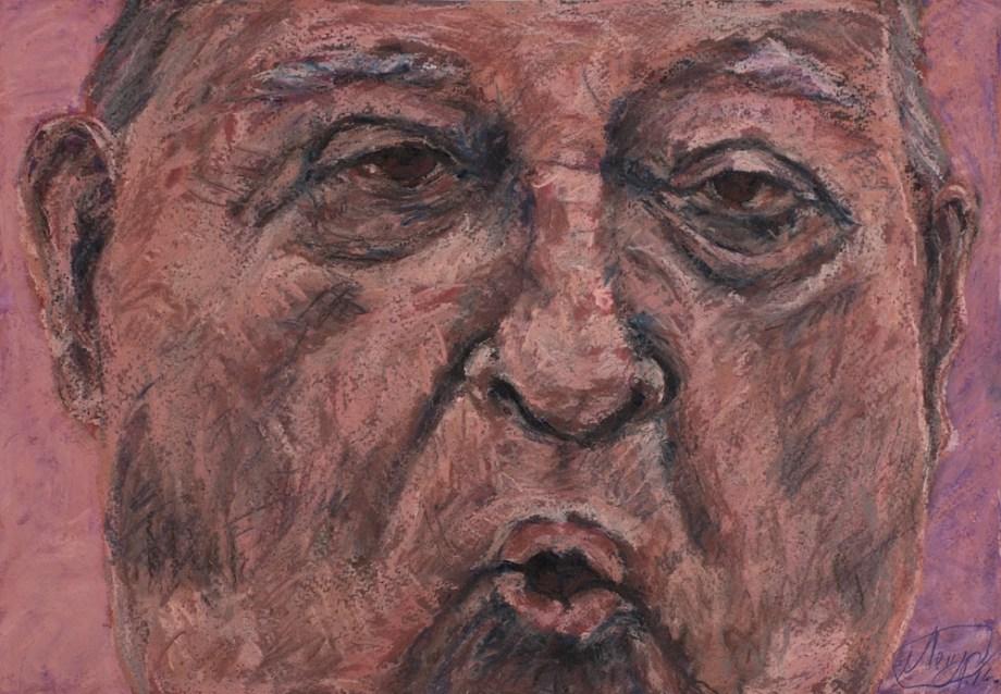 Title:DREAM FACTORY gorbachev Medium:pastel on paper Size:20x30 cm