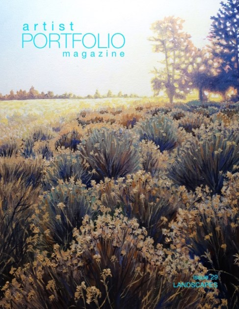 Artist Portfolio Magazine Landscapes Issue