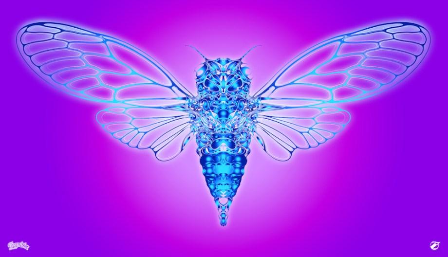 Title:Cicada Medium:Digital Art Size:2000x1148