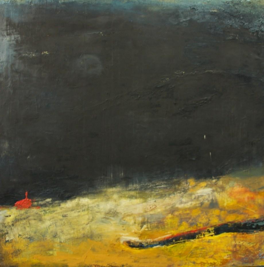 "Title:Covert Serpents Medium:oil paint on canvas Size:55"" x 55"""