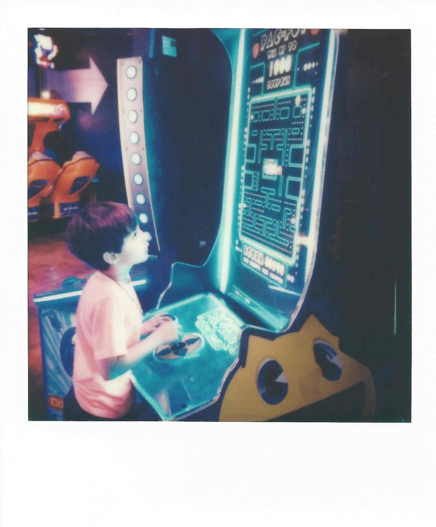 Title:Bowlero Arcade 029 Medium:	Instant Film Size:	3.5 x 4 inches
