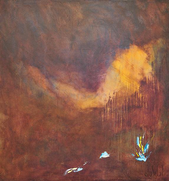 Title:Remembered Everything Medium:acrylic on canvas Size:42x40