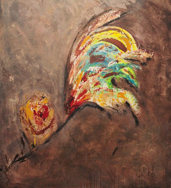 Title:Look Further Medium:acrylic on canvas Size:46x40