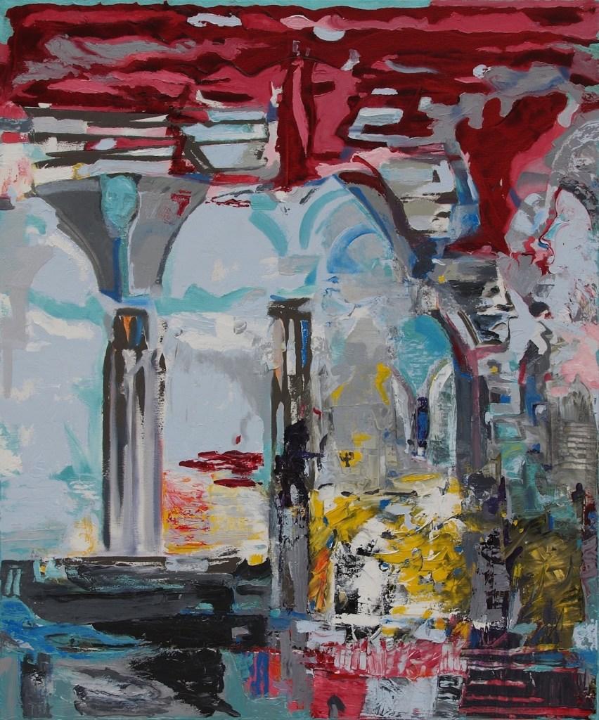 Title:Sophia Medium:Oil Size:120 x 100 x 2 cm